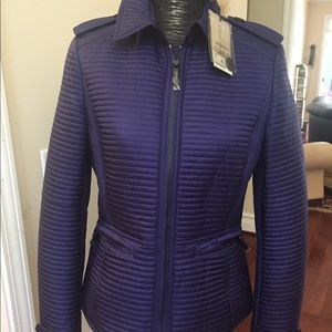 Burberry quilted puffer M